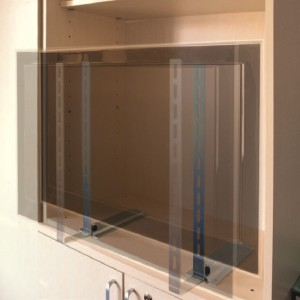 Built In Cabinet Mounts For Flat Screens